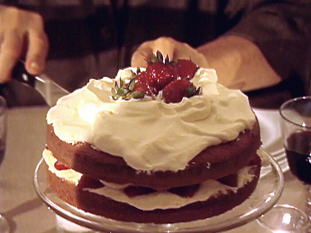 Food Network Strawberry Country Cake