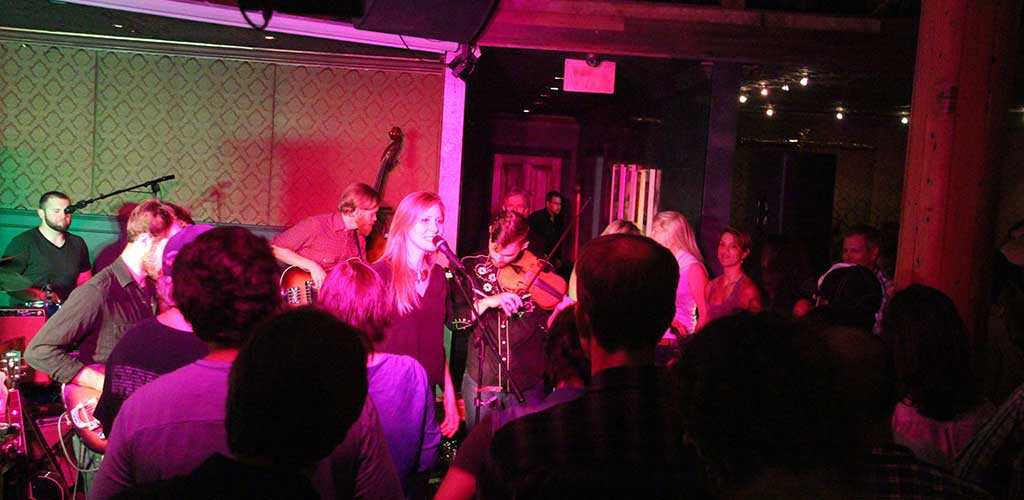We took the House Concert on the Road with Nora Jane Struthers and the Party Line!