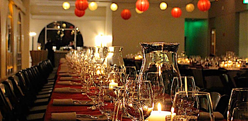 A Corporate Holiday Party at the Presidio's Observation Post Shines