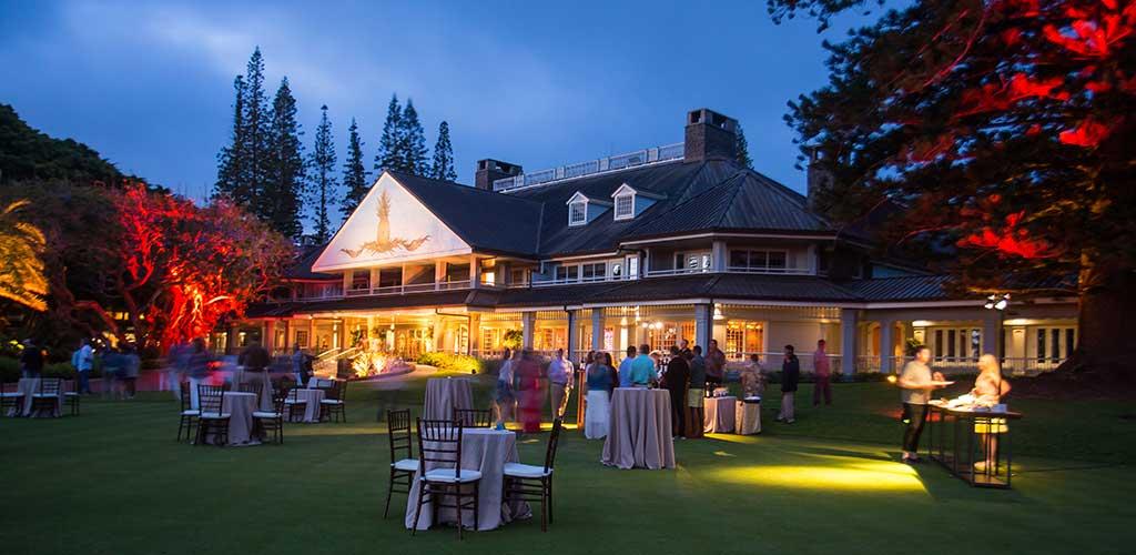 Luxury Destination Events – 50th Birthday Party – Lana'i, Hawaii