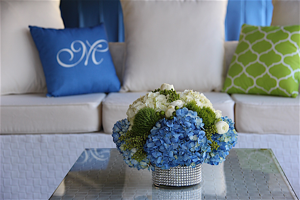 Chic Colors and Design for a Springtime Bat Mitzvah in Marin