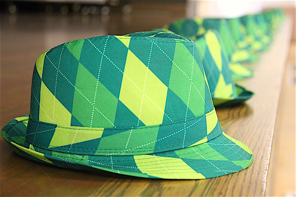 Green and Yellow Woodsy Themed Bar Mitzvah in San Francisco
