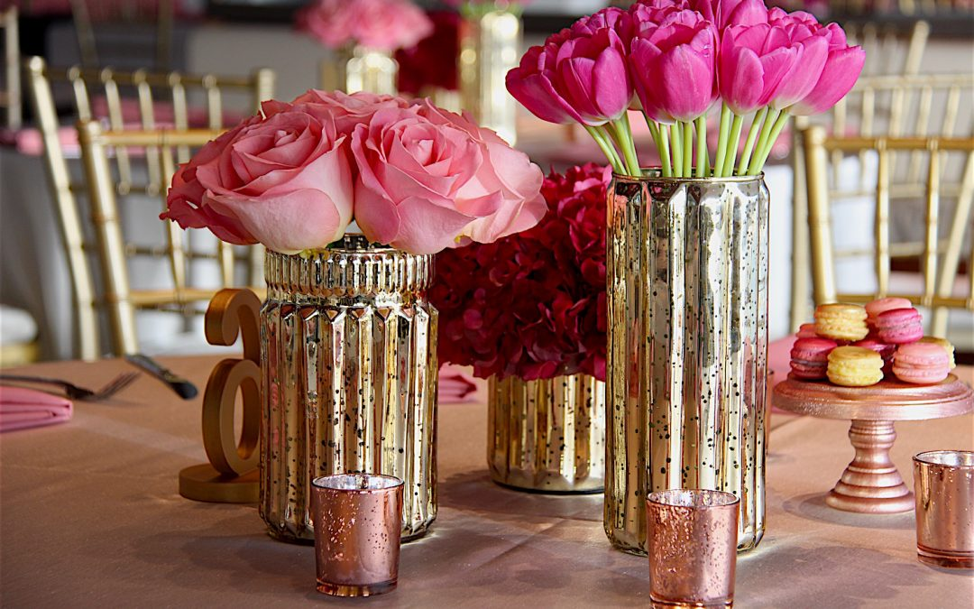 Bat Mitzvah Pink & Rose Gold Extravaganza at Cal Berkeley's University Club