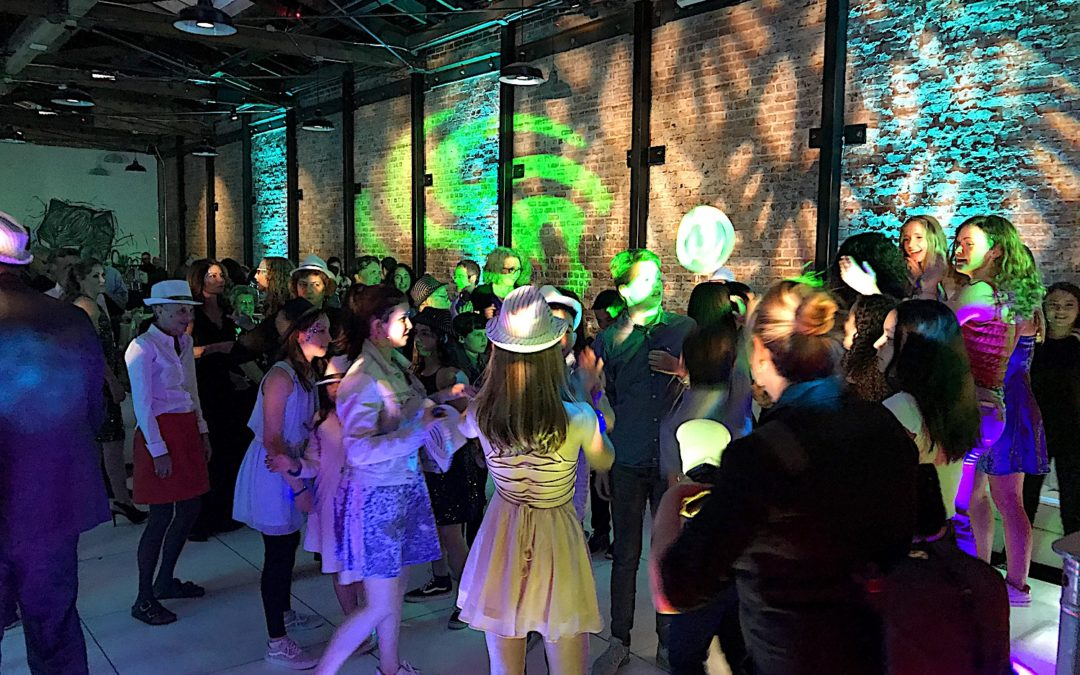 Urban Chic Bat Mitzvah Party Rocks the Night – 1544 Events, Oakland