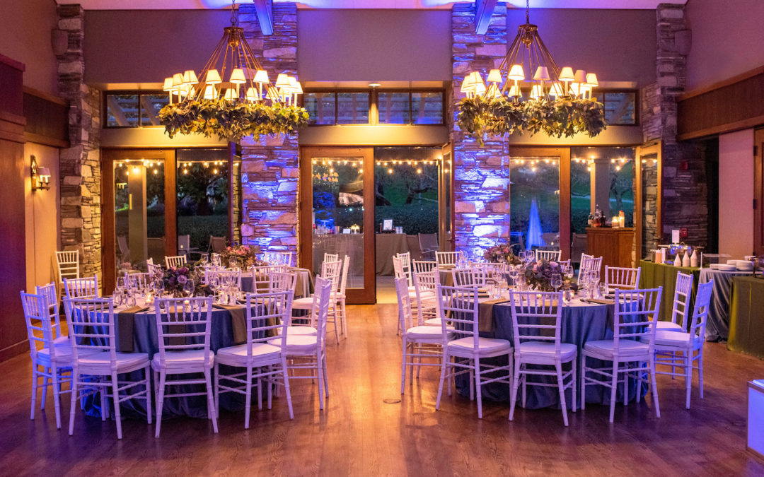 Garden Themed Bat Mitzvah Celebration Sparkled on a Winter's Night – Highland's Country Club, Oakland